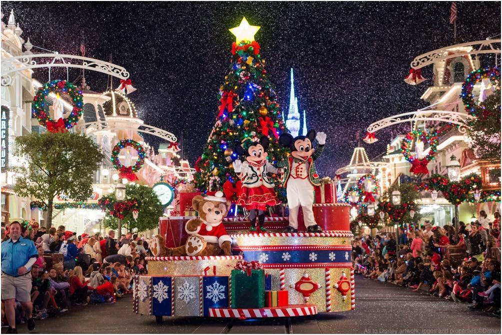 ミッキーのワンス・アポン・ア・ クリスマスタイム・パレード As to Disney artwork, logos and properties:©Disney