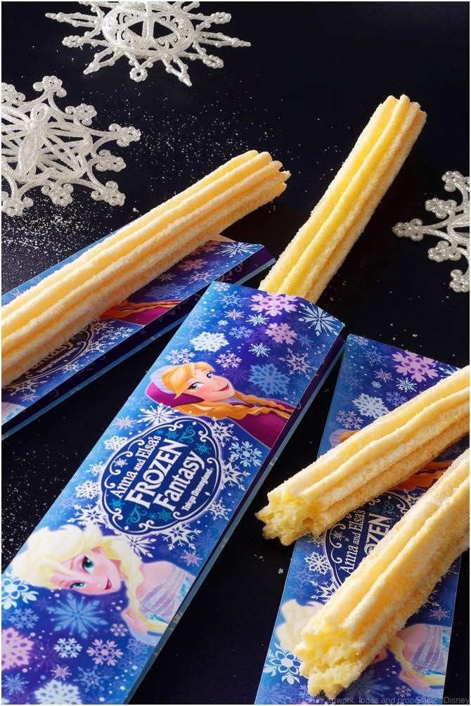 ホワイトチュロス(バニラ)1個310円 (c)Disney
