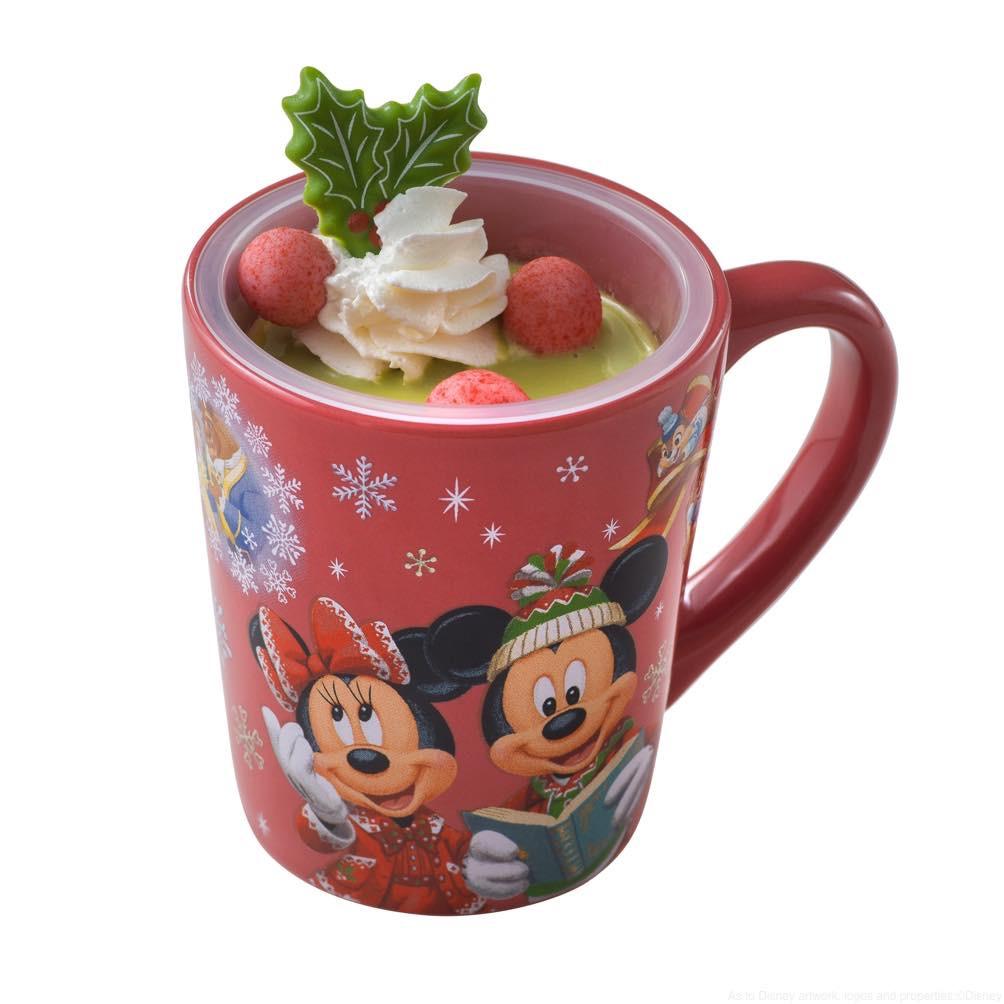 カスタードプリン、 スーベニアカッブ付き 750円(スウィートハート・カフェ) (c)Disney