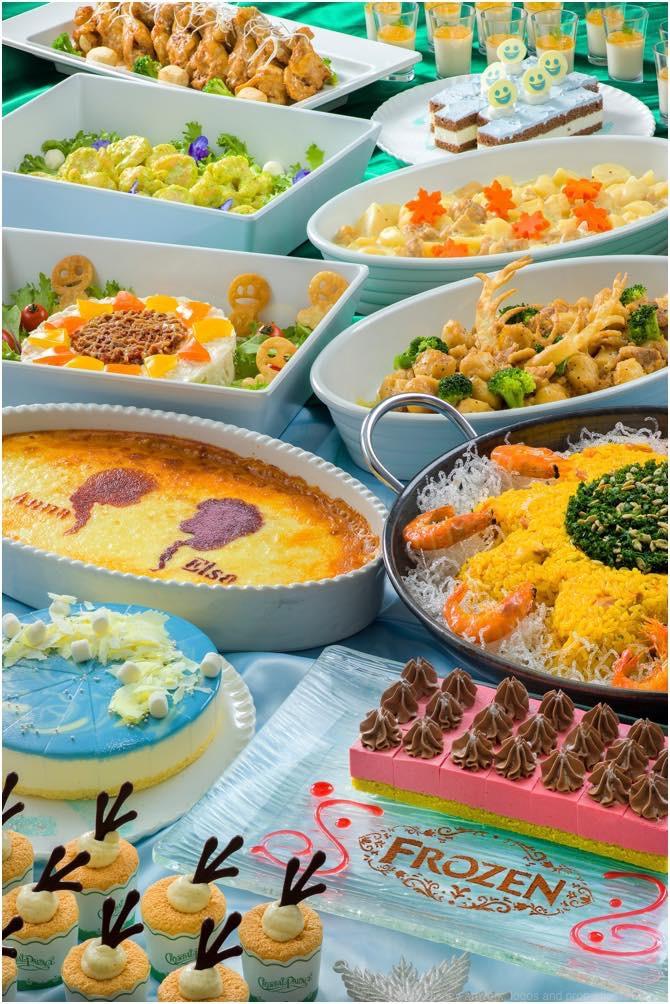 クリスタルパレス・レストラン スペシャルブッフェ 3900円 (c)Disney