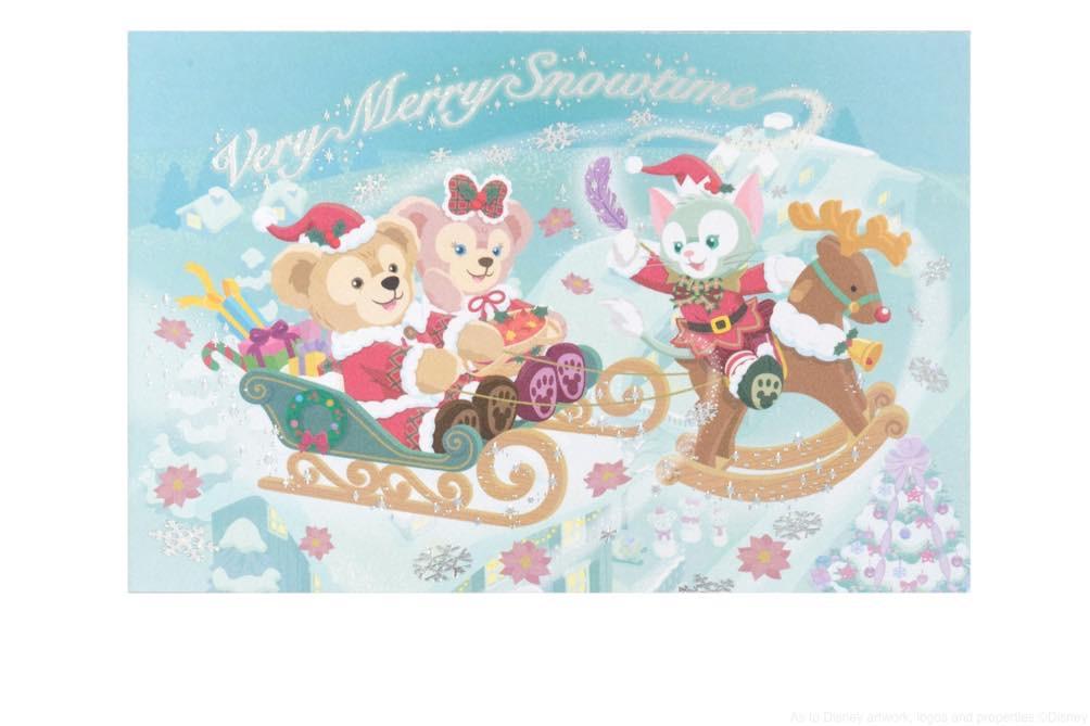 ポストカード  200円 (c)Disney