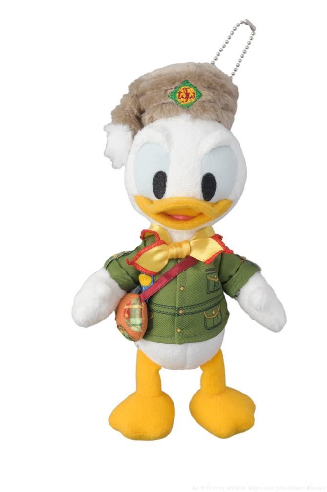 ぬいぐるみバッジ 2200円 (c)Disney