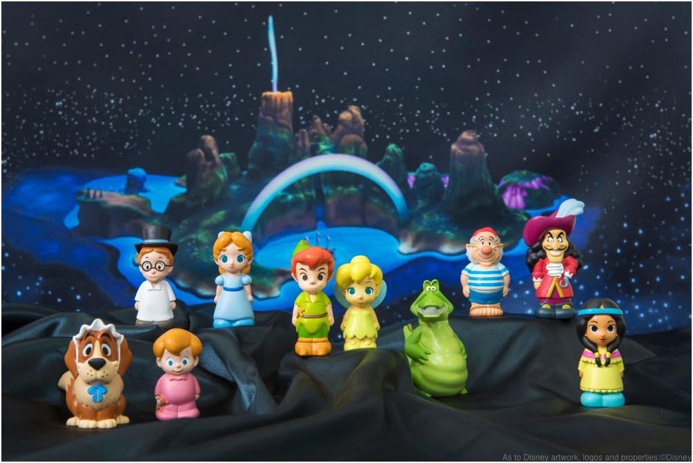 指人形 各500円 (c)Disney