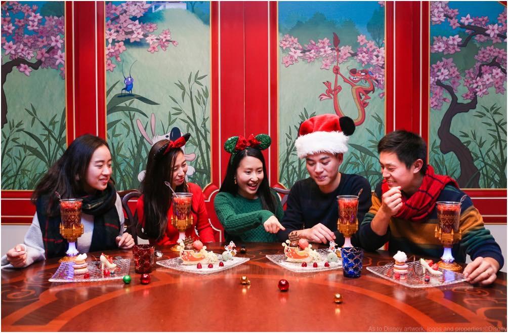 Shanghai Disney Resort Holiday Set Menu, Royal Banquet Hall (c)Disney