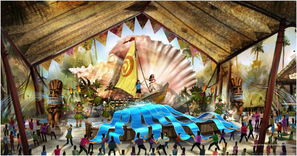 Adventureland Show Place (c)Disney