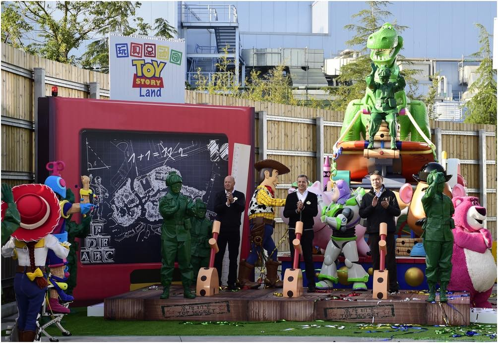 Shanghai Disneyland to Expand with New Toy Story Land (c)Disney/Pixar