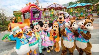 """""""キャラクター""""中心のイベント開催、香港ディズニーランド「Disney Friends Springtime Carnival」2017年3月16日よりスタート(Update)"""